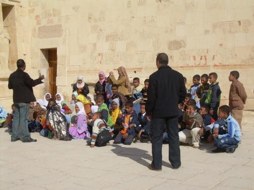 Visita extraescolar en Deir-el-Behari